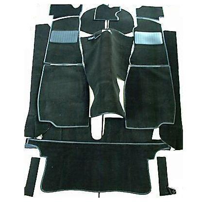 MGB Roadster Black Carpet Set