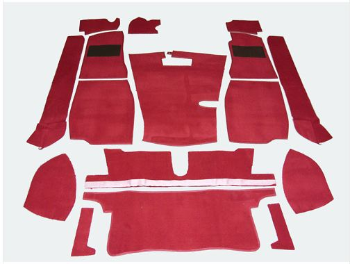 MGB Roadster Red Carpet Set